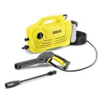 軽量・コンパクトなエントリークラスの家庭用高圧洗浄機。 初心者でも工具無しで接続しやすいクイックタイ...