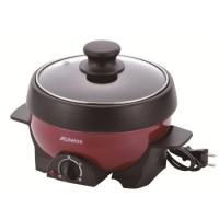 【主な特徴】 ・煮る、焼く 1台2役で お手軽調理はエコ調理! ・アルミ鍋&焼きプレートは脱...
