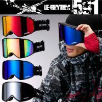 15-16 最新NEW MODEL!  『le-Rhythm リアリズム スノーボードゴーグル』  ...