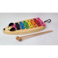 「子供用だからこそ正確な音階の音を」との考えで作られている、楽器メーカーゾノア社の子供用鉄琴・メタル...