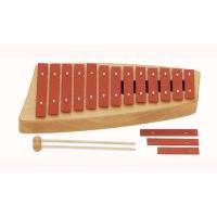 「子供用だからこそ正確な音階の音を」との考えで作られている、楽器メーカーゾノア社の鉄琴・メタルホンで...