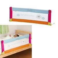 大人用のベッドからお子様が落ちないよう、しっかり防いでくれるベッドガード。ふとんのずれ落ち防止にもな...
