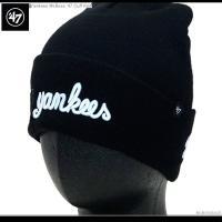 47 Brand 47ブランド Yankees McBess '47 Cuff Knit  アメリカ...