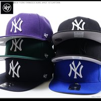 47Brand47ブランド NEW YORK YANKEES SURE SHOT '47 CAPTA...
