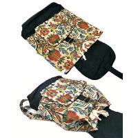 布製 モン族 ジャガード織り ディパック ナップザック H アジアン雑貨 バリ雑貨 タイ雑貨 エスニック
