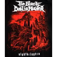 THE BLACK DAHLIA MURDER ブラックダリアマーダー NIGHTBRINGERS ZIP HOODIE オフィシャル ZIP-UP バンドパーカー / 正規ライセンス品