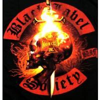 【メール便対応可】BLACK LABEL SOCIETY / ZAKK WYLDE  ブラックレーベルソサイアティ / ザックワイルド FLAMING SKULL オフィシャル バンドTシャツ