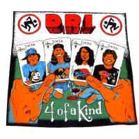 D.R.I. ディーアールアイ FOUR OF A KIND White オフィシャル バンドTシャツ / 2枚までメール便対応可