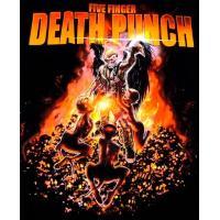 【メール便対応可】FIVE FINGER DEATH PUNCH  ファイヴフィンガーデスパンチ PURGATORY オフィシャル バンドTシャツ