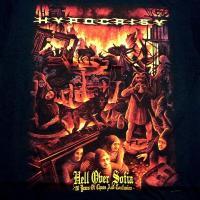 【メール便対応可】HYPOCRISY ヒポクリシー HELL OVER SOFIA  オフィシャル バンドTシャツ