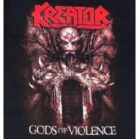 【2枚までメール便対応可】KREATOR クリーター GODS OF VIOLENCE  オフィシャル バンドTシャツ【正規ライセンス品】