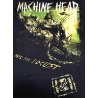 【メール便対応可】MACHINE HEAD マシーンヘッド LOCUST オフィシャル バンドTシャツ