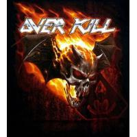 【メール便対応可】OVERKILL オーヴァーキル  BAT SKULL OF FIRE TOUR DATES  オフィシャルバンドTシャツ