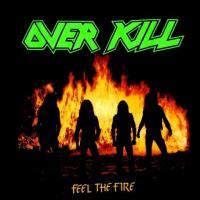 【メール便対応可】OVERKILL オーヴァーキル  FEEL THE FIRE 2  オフィシャルバンドTシャツ