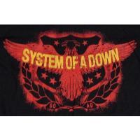 SYSTEM OF A DOWN システムオブアダウン SPREAD EAGLE オフィシャル バンドTシャツ 【2枚までメール便対応可】【正規ライセンス品】