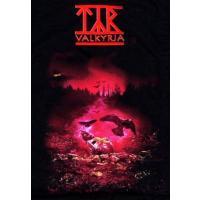 【メール便対応可】TYR ティア RED VALKYRJA オフィシャル バンドTシャツ