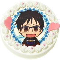 大人気アニメイトカフェが販売するキャラクターケーキです。 見栄えするホールケーキで記念日やオフ会が盛...