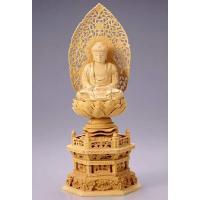天台宗・臨済宗・曹洞宗・日蓮宗などで用いる仏像(ご本尊)です。桧の香りが心を和ませるお値打ち価格の桧...