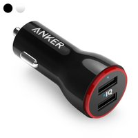 Anker PowerDrive 2 カーチャージャー 24W/4.8A 2ポート USB iPhone Android対応 車 充電器