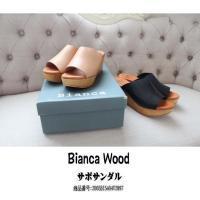 ビアンカウッド サボサンダル ウェッジサンダル ウッドヒール サンダル Bianca Wood 新作...