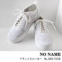 ノーネーム フラットスニーカー レザースニーカー スニーカー 靴 NO NAME 新作 春夏 17S...