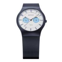 正規品のベーリング 腕時計 11939-394 ホワイト×ブルー×ネイビー メンズ。ベーリング 腕時...