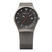 正規品のベーリング 腕時計 14440-077 グレー メンズ。ベーリング 腕時計 BERING M...