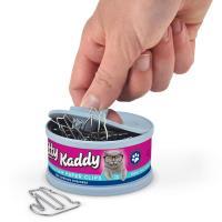 フレッド 猫缶入りキャットクリップ キャットフード クリップ ステーショナリーホルダー FRED ね...
