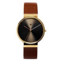 正規品のヤコブ・イェンセン 腕時計 JJ844 メンズ ブラウン ブラウン。ヤコブイェンセン Jac...