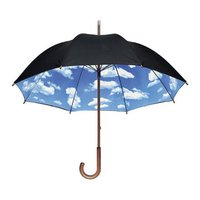 モダンなMoMA スカイアンブレラ 長傘。MoMA スカイアンブレラ 長傘 傘 モマ ニューヨーク近...