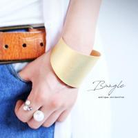 バングル ブレスレット シルバー 腕輪 メタリックバングル・7月4日20時〜発売。##