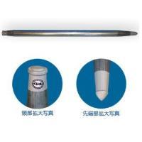 単管杭 くい丸 打ちこみ専用鋼管材  ** 直径48.6mm 長さ 1500mm ** 鋼管 肉厚 ...