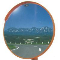 丸型カーブミラー 600φ アクリル製  道路反射鏡 1面鏡  ※画像見本はφ600mm(支柱は含み...