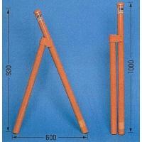 単管バリケード 鉄(スチール)ガードスタンド 2個で1セット ※クランプは含みません  ・しっかり丈...