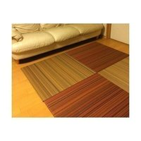 82cm×82cm 厚さ15mm 青畳工房製造品 畳表:拭き掃除しやすい濡れても大丈夫な樹脂畳表 畳...
