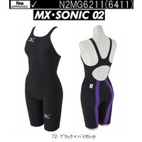 ■サイズ XS ■カラー  72(ブラック×バイオレット) ■素材 ソニックライト リブテックス(ナ...