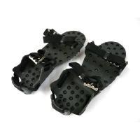 普通の靴がスパイクシューズに早変わり!  靴の底にベルトで装着して使用します。  無数のネジがスパイ...