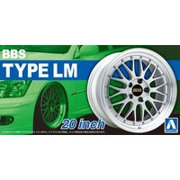 [予約特価11月再生産予定]1/24 BBS LM 20インチ ザ・チューンドパーツ No.25 #プラモデル