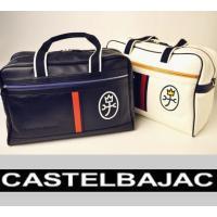 バジャックらしいカラーコンビと刺繍KAMONがポイントのカジュアルなボストンバッグ。 本体素材には、...