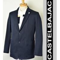 コットン素材のサラリとして柔らかな肌触りが心地よいジャケット。 KAMONマーク刺繍がさりげないアク...