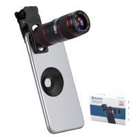スマホ望遠レンズ 12倍 単眼鏡 スマホ用カメラレンズ iPhone Android 対応