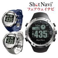 ショットナビ W1-FW[ウォッチ]/shot navi W1-FW[腕時計型](ゴルフナビ/GPS...