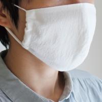 4/10~順次発送 フィットマスク 白 ガーゼ メール便