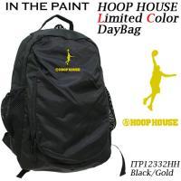姉妹店舗「フープハウス」が「インザペイント」とコラボ 表ポケットのメッシュにはバスケットボールが収納...