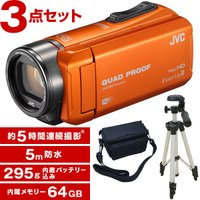 Everio エブリオ VICTOR JVC ビクター VICTOR GZ-RX600-D 64GB...