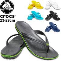 クロックス (crocs)から、ビーチサンダル「クロックバンド フリップ(crocband flip...