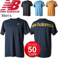 Tシャツ 半袖 メンズ ニューバランス new balance R360 ヘザーグラフィック TEE/ランニング ジョギング 男性用/JMTR8615