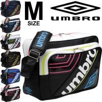 アンブロ(UMBRO)から、Mサイズのエナメルショルダーバッグです。  毎回人気ラバスポシリーズのシ...
