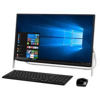 ◇◆商品特徴◆◇ ■デザイン性を極めた、高性能デスクトップ 23.8型大画面液晶なのに置き場所に困ら...