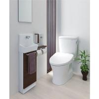 トイレ空間にスッキリと収まるコンパクトでスリムな手洗器のシリーズ スリムタイプC 埋込なし 手洗器単...